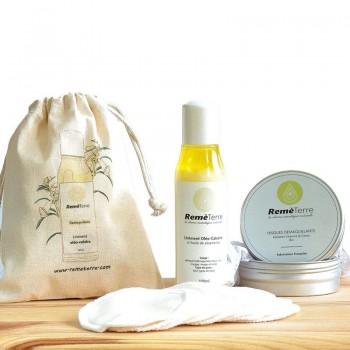 Stuccante + set di pad in canapa e cotone biologico